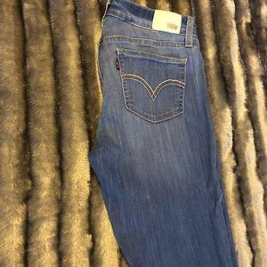 535 Levis Jeans (Coral Blue)